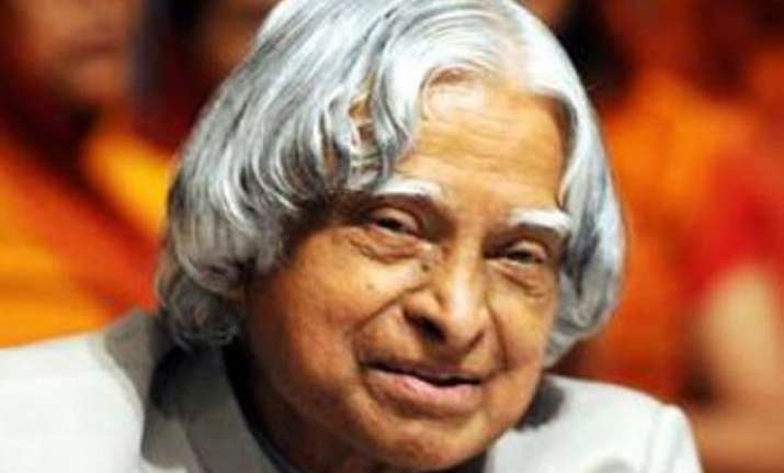 kalam was passionate about ayurveda and was keen to