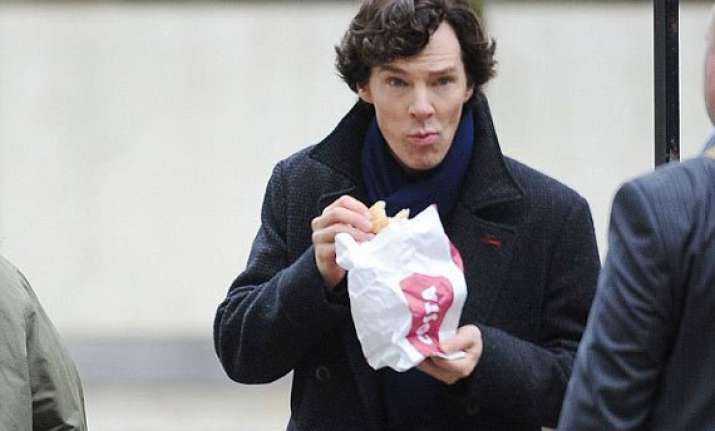 benedict cumberbatch struggles eating healthy