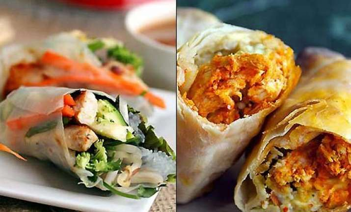 it s time to... wraps and rolls view pics of delicious rolls