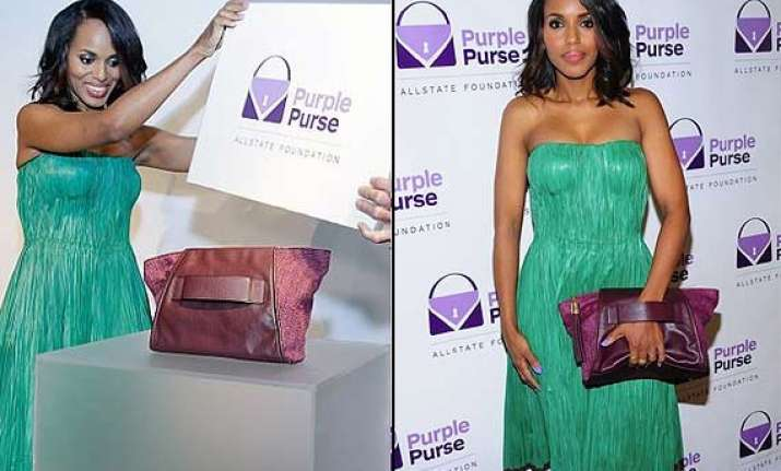 kerry washington turns designer for a cause