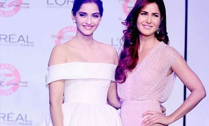 cannes 2015 katrina kaif sonam kapoor to give two stunning