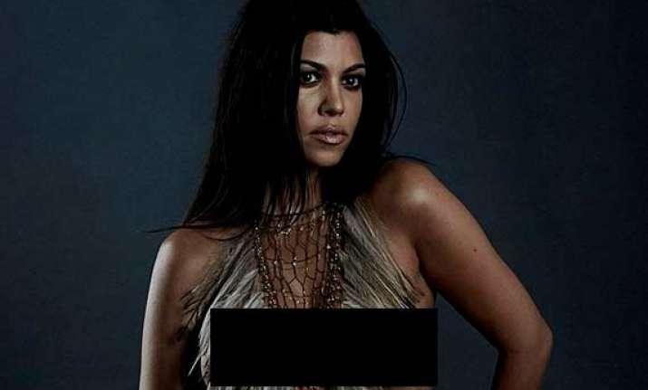 Pregnant Kourtney Kardashian Poses Nude  Lifestyle News -3201