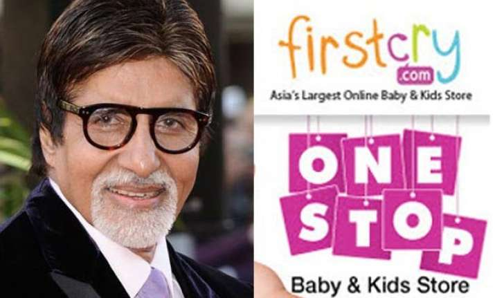 big b to promote firstcry online children s store