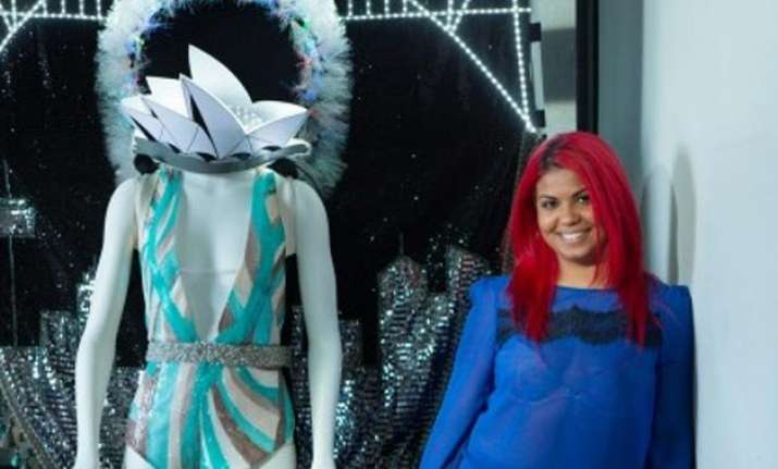 indian origin artist makes led bodysuit for australia miss