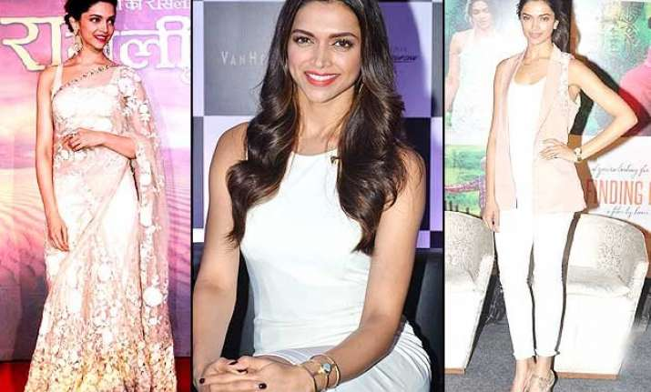 deepika padukone birthday special her love for white see