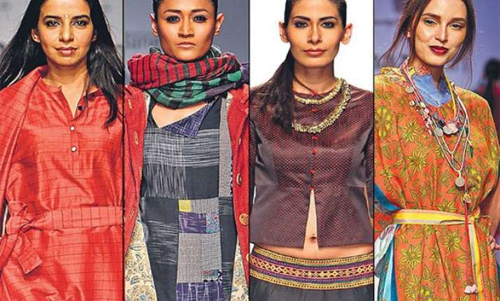 aifw designers celebrate indian heritage at grand finale