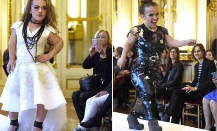 dwarf models storm paris fashion week to set new standards