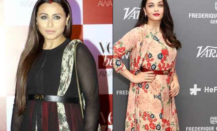 rani mukerji copies aishwarya rai s cannes look for vogue