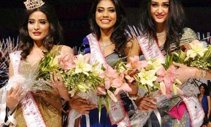 gurgaon girl aditi arya crowned miss india 2015