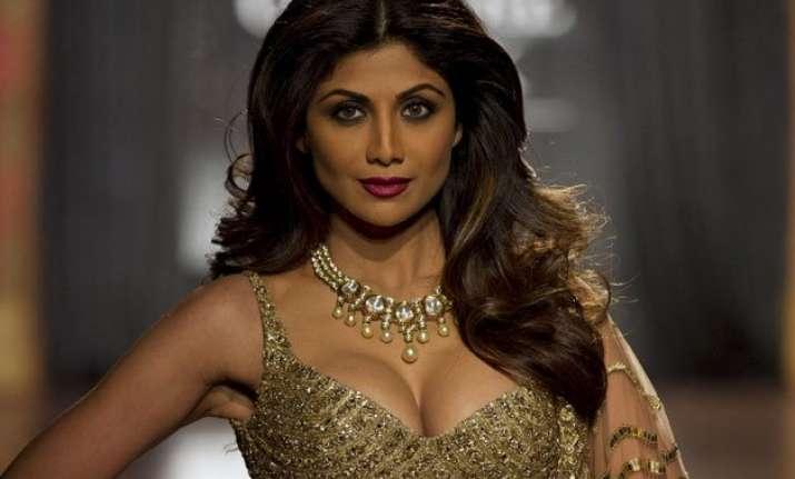 shilpa shetty s royal affair at aicw 2015