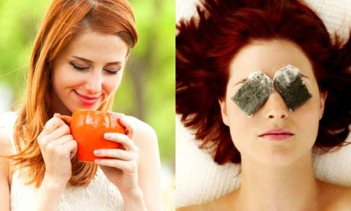 get spot free face silky tresses with green tea