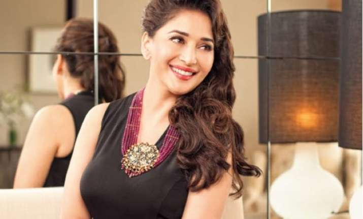 madhuri dixit enters fashion world with clothing line madz