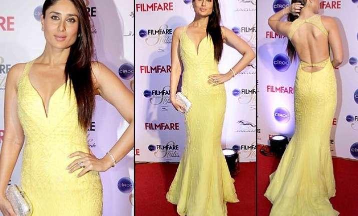 kareena kapoor khan stuns the red carpet at filmfare style