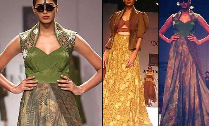 amazon india fashion week 2015 designers bring on wild