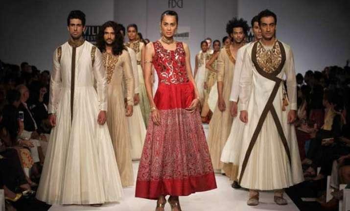 india fashion week 2015 samant chauhan makes white hued