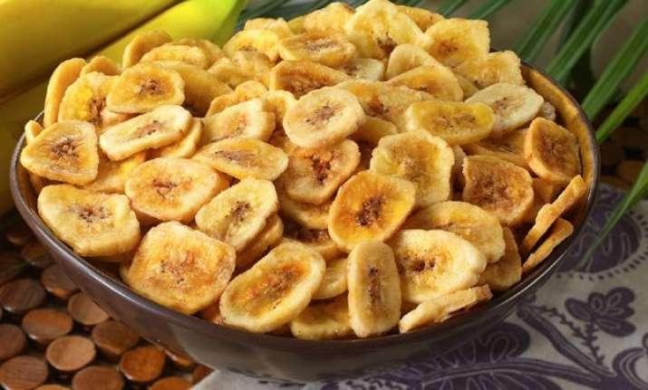 navratri special how to make banana chips at home