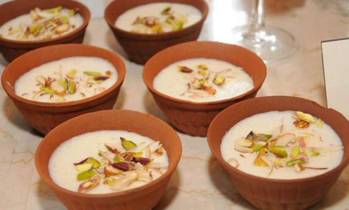 ramdan special make kesar pista phirni in simple steps