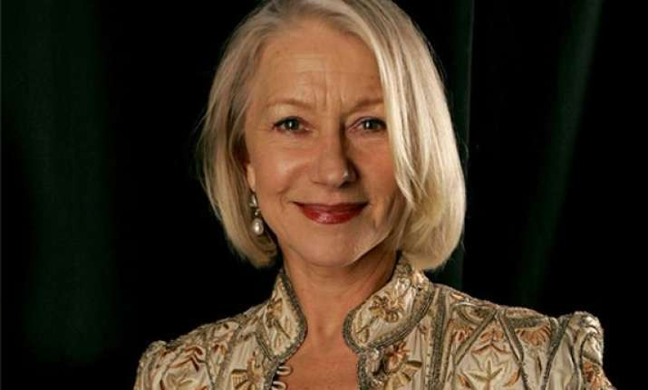 at 69 helen mirren becomes new face of l or al paris