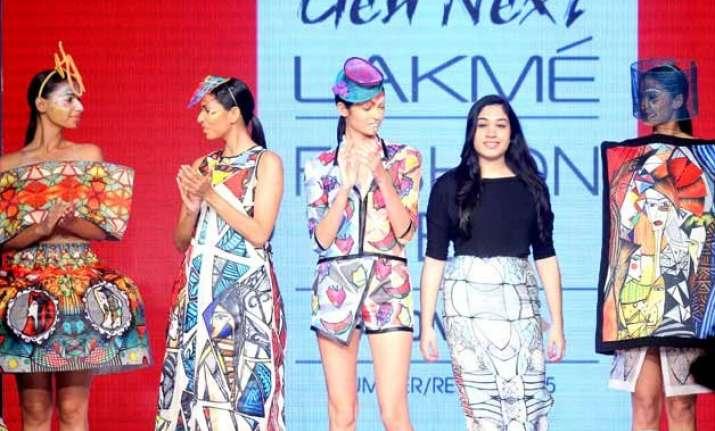 lakme fashion week 2015 gen next show kicks off summer