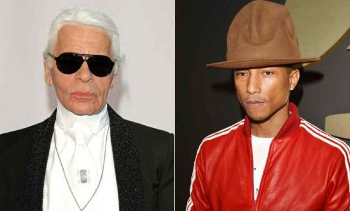 fashion mogul karl lagerfeld dons directors hat in pharrell