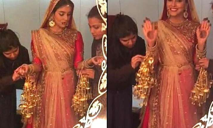 asin is back with all is well looking all stunning and