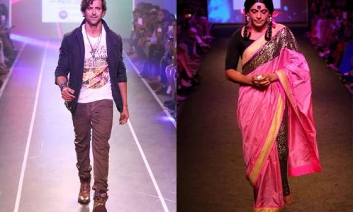 hrithik roshan gutthi steal the show at myntra fashion