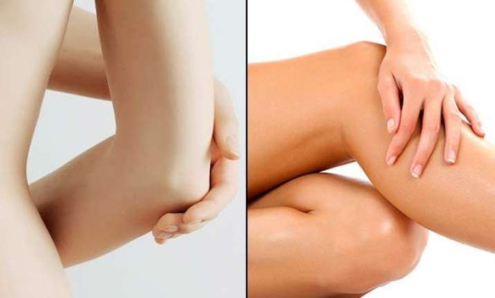 tips to get rid of dark knees and elbows