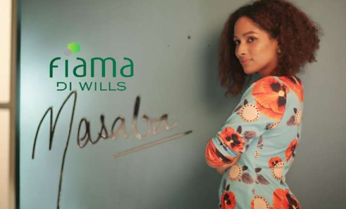masaba unveils fiama di wills shower jewels at wifw
