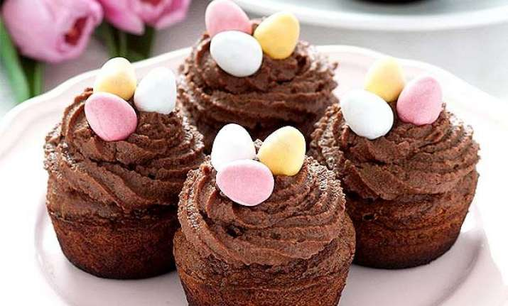 easter fun try cute chocolate cupcakes