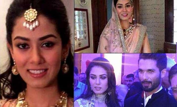 shahid kapoor s wife mira s mesmerising looks see pics
