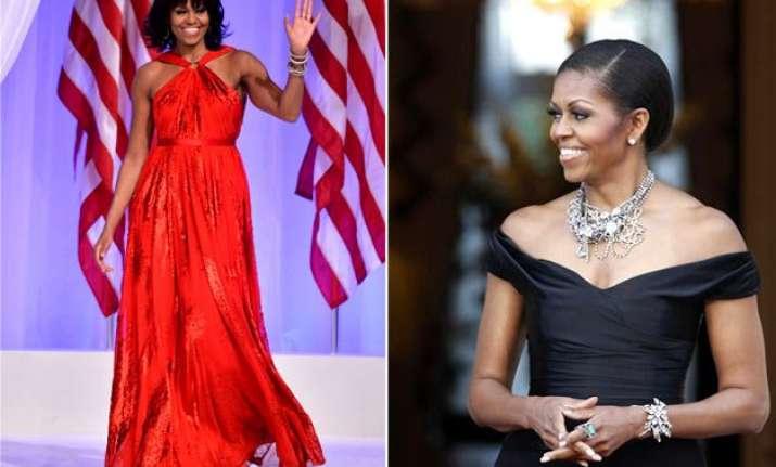 will michelle obama s sartorial pick includes sari