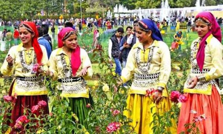 flower festival begins in himachal