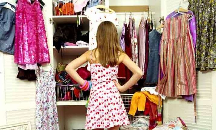 getting fresh wardrobe for new season causes stress