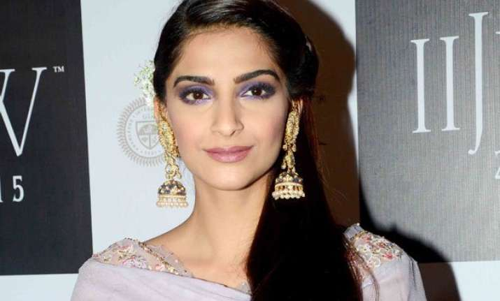 india should promote jewellery as an industry sonam kapoor
