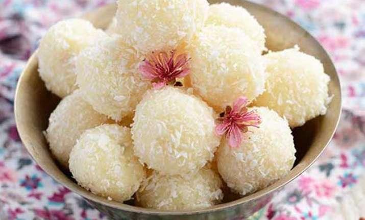 quick recipe prepake coconut ladoo in 9 easy steps