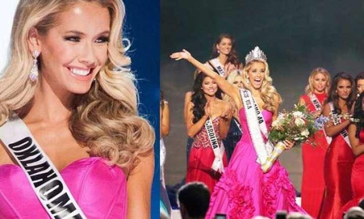 miss oklahoma olivia jordan crowned miss usa 2015