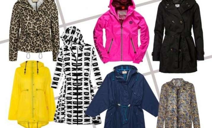 go stylish with these trendy raincoats