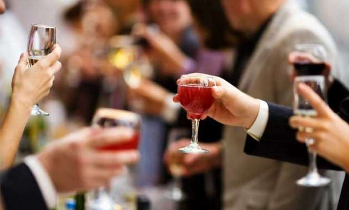 raise toast to your liver as it eliminates alcohol from