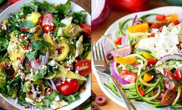 3 easy salads for people who are always in hurry