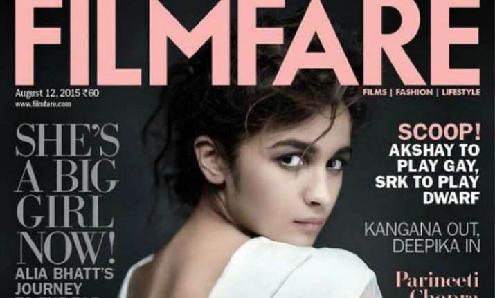 alia bhatt looks smoking hot on filmfare cover