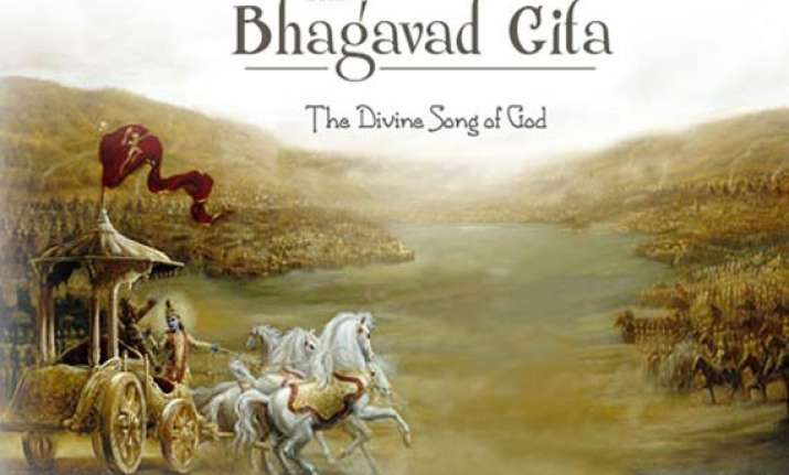 bhagavad gita must be declared national scripture urges