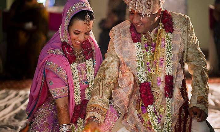 indians swear by arranged marriages
