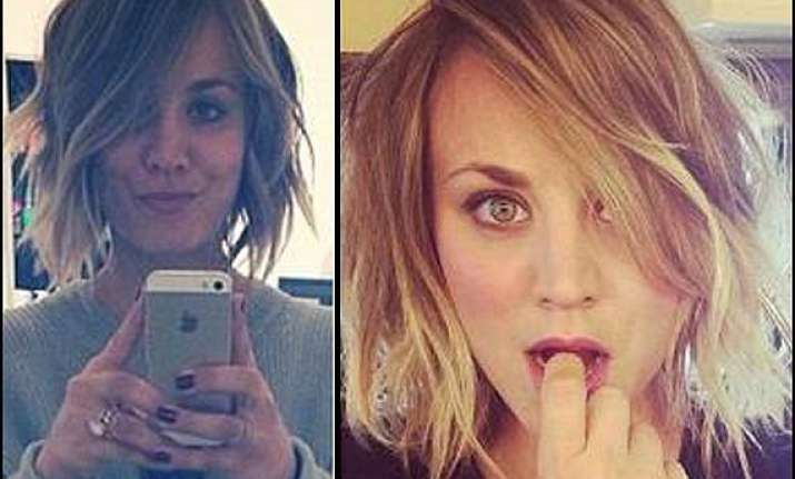 kaley cuoco s faux bob inspired her to cut hair short