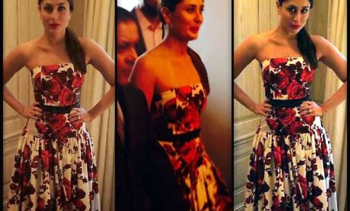kareena kapoor stuns new york crowd in sexy gown see pics