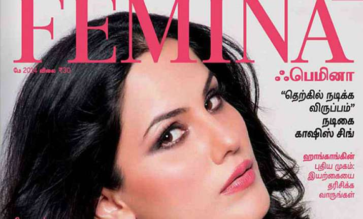 actress kashish singh graces the cover of femina tamil