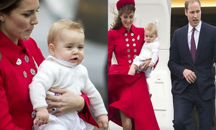 baby george not kate middleton stuns the world in startling