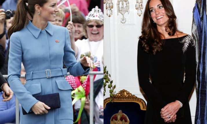 astonishing kate middleton dons two stunning attires in a
