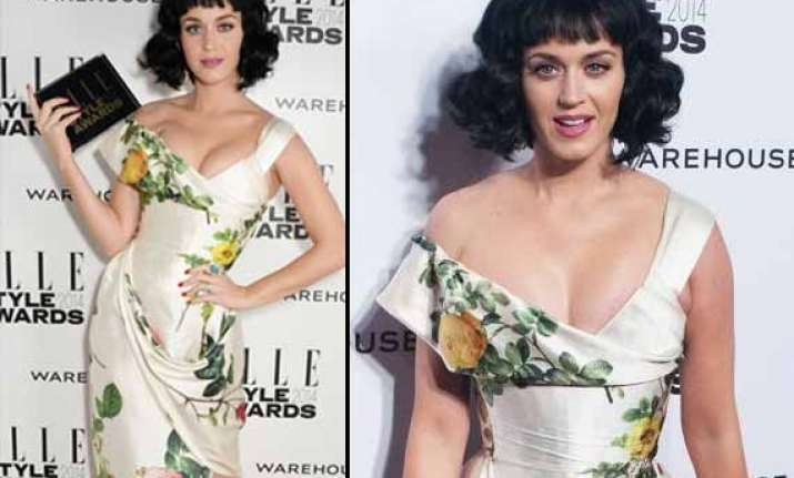 katy perry named woman of the year at elle style awards