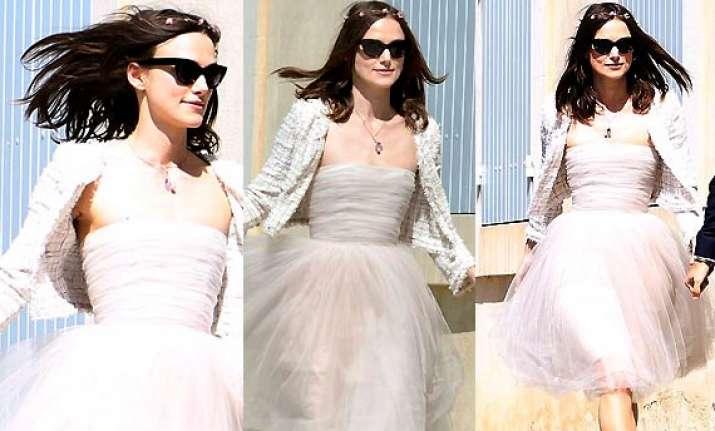 Keira Knightley 2013 Wedding