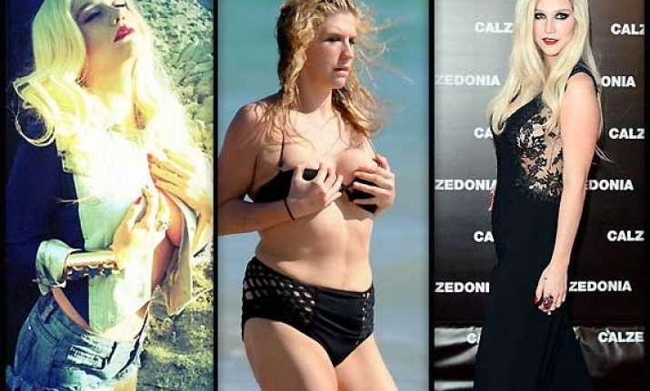 kesha lose weight under pressure of advisors see pics